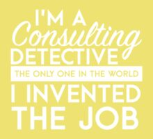 Sherlock - Consulting detective One Piece - Short Sleeve