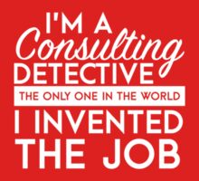Sherlock - Consulting detective Kids Tee