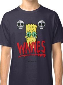 "WAVVES ""Drippy"" Design Classic T-Shirt"