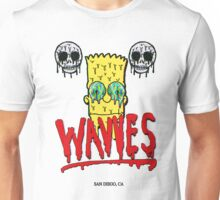 "WAVVES ""Drippy"" Design Unisex T-Shirt"