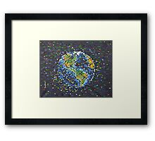 We Are The Grid Framed Print