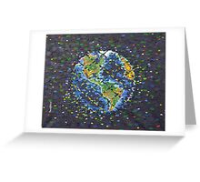 We Are The Grid Greeting Card