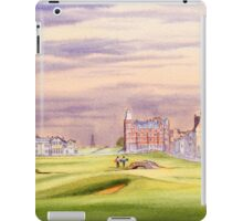 Saint Andrews Golf Course 17Th Green iPad Case/Skin