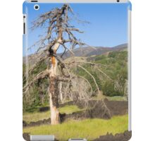 Etna volcano iPad Case/Skin