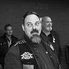 Veterans Motorcycle Club Member by Andrew  Makowiecki