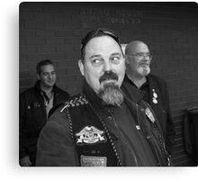 Veterans Motorcycle Club Member Canvas Print