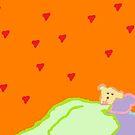 Sleeping Teddy by monica98