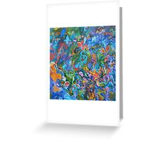 Psychedelic Instinct Greeting Card