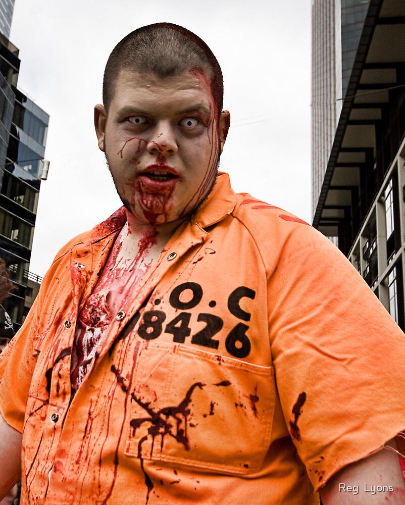 Prison Zombie by Reg  Lyons