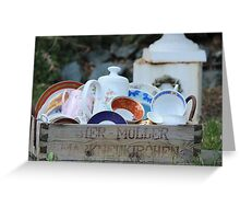 Front Yard Decoration Greeting Card