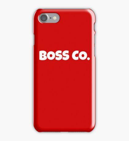 Boss Co. iPhone Case/Skin