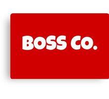 Boss Co. Canvas Print