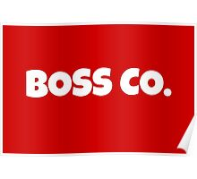 Boss Co. Poster