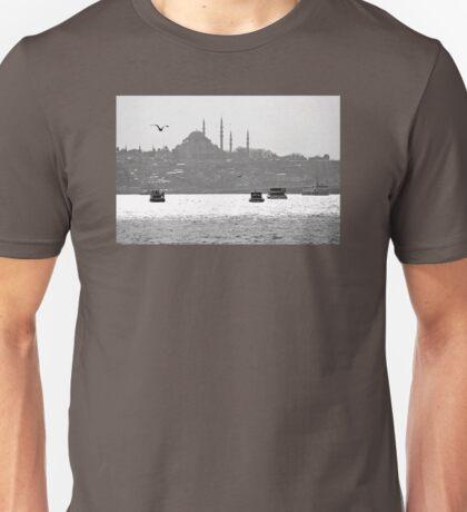 Evening traffic Unisex T-Shirt