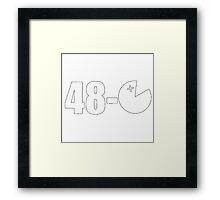 48-0 Framed Print