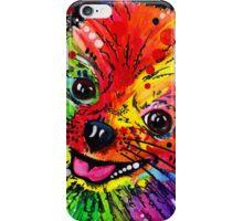 Rainbow Pomeranian iPhone Case/Skin