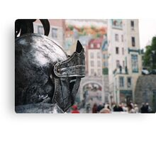 Quebec City, Home Of The One-Knight Stand Canvas Print