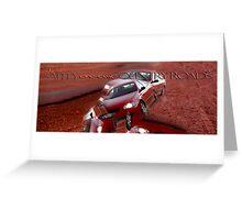 Drive Safe © Vicki Ferrari Greeting Card