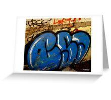 Grafiti Greeting Card