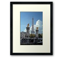 The Tower From The Bridge Framed Print