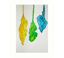 Ink Drops #3 Art Print