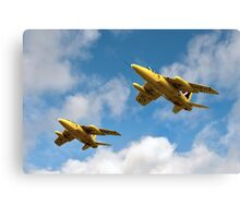 1964 Yellowjacks -  The Forerunners of the Red Arrows Canvas Print