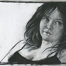 Sunday girl - charcoal by djones