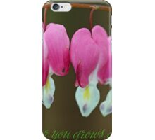 My love for you grows and grows... iPhone Case/Skin