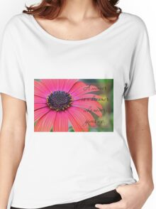 A winner is a dreamer who never gives up. Women's Relaxed Fit T-Shirt