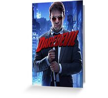 Daredevil Netflix TV Show Greeting Card