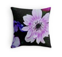 Shades of Lavender Throw Pillow