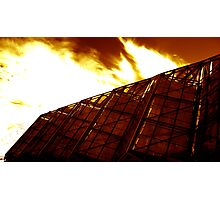 Redhouse - A burning passion for the gardens Photographic Print