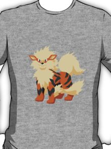 Arcanine Pokemon Simple No Borders T-Shirt