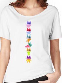 Multi-e-Mon Women's Relaxed Fit T-Shirt