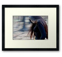 spin me like a top Framed Print