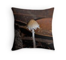 Fringed fungi from Hazelbrook Throw Pillow