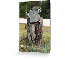 Water Can Greeting Card