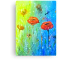 Magical Dragonfly Canvas Print