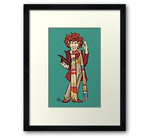 The Fourth Doctor [Who] Framed Print
