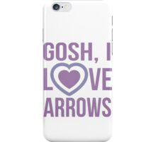 "Hawkeye Comics- ""Gosh, I love arrows."" iPhone Case/Skin"
