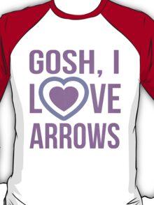 "Hawkeye Comics- ""Gosh, I love arrows."" T-Shirt"