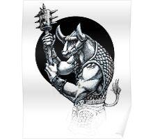 Minotaur (variant) Poster