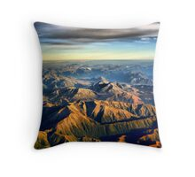 New Zealand Southern Alps Throw Pillow