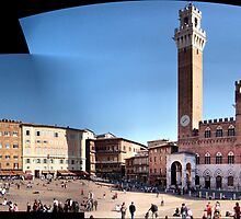 Piazza del Campo Siena by Eyal Geiger