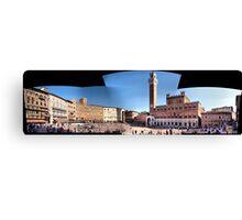 Piazza del Campo Siena Canvas Print