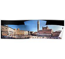 Piazza del Campo Siena Poster