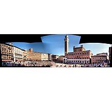 Piazza del Campo Siena Photographic Print