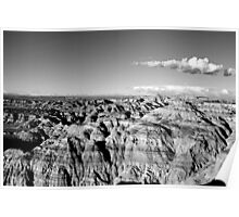 Angel Peak New Mexico Poster