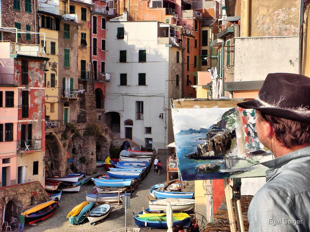 Pittura Riomaggiore II by Eyal Geiger