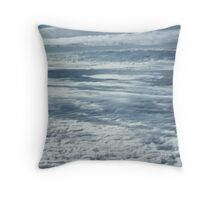 collision clouds Throw Pillow